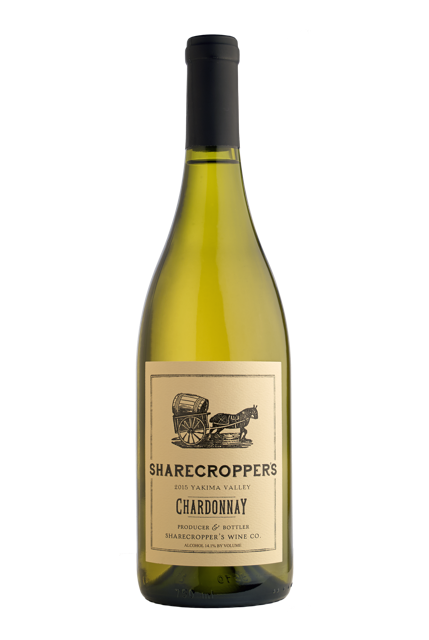 2015 Sharecropper's Chardonnay Bottle Shot